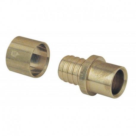 Adaptateur PER glissement 25 - Tube cuivre à souder 22