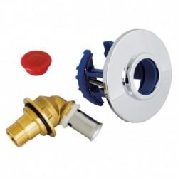 "Sortie de cloison FIXOPLAC robinet WC - PER sertir 12 - Mâle 12/17 (3/8"")"