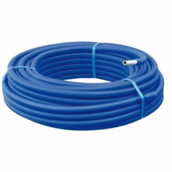 Tube Multicouche gainé bleu Ø20 X 2,0 – 100 m