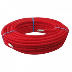 Tube Multicouche gainé rouge Ø26 X 3,0 – 50 m