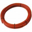 Tube PER PEX-B Nu rouge diamètre 12 - 15m