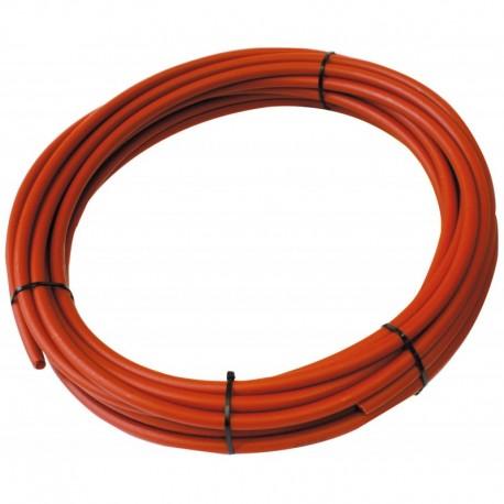 Tube PER PEX-B Nu rouge diamètre 16 - 15m