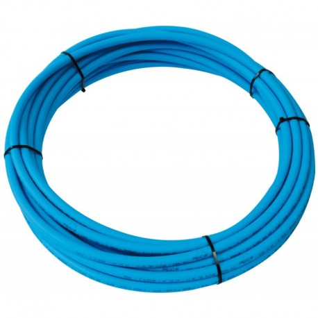 Tube PER PEX-B Nu bleu diamètre 16 - 15m