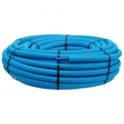 Tube PER PEX-B gainé bleu diamètre 16 - 50m