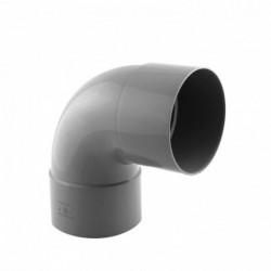 Coude PVC 87°30 Femelle Femelle D 100