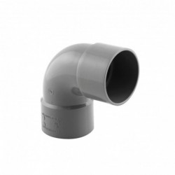 Coude PVC 87°30 Femelle Femelle D 50