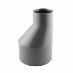 Réduction PVC excentrée Mâle Femelle D 100-50