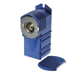 Boîte d'encastrement bleu raccord 3/4 EK eurocône