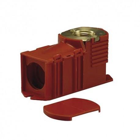 Boîte d'encastrement rouge raccord 3/4 EK eurocône