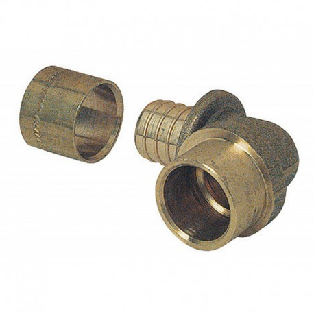 Coude PER glissement 12 - Tube cuivre 14