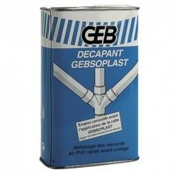 Décapant tube et raccord PVC GEBSOPLAST 1 litre