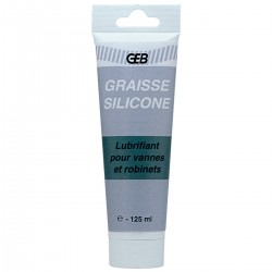 Graisse silicone GEB spéciale robinetterie tube 125gr