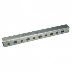Rail de fixation Dim.27x18 Ep.1,25 Longueur 2m