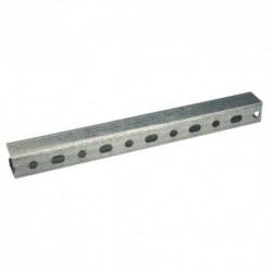 Rail de fixation Dim.38x40 Ep.2 Longueur 2m