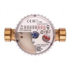 Compteur eau froide/eau chaude à impulsion - Calibre 15