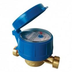 Compteur eau froide totalisateur - Calibre 15 Mâle 20/27