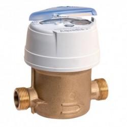 Compteur eau chaude volumétrique - Calibre 15 Mâle 20/27