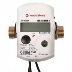 Compteur énergie thermique à ultrasons M-BUS - Calibre 15 Mâle 20/27