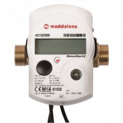 Compteur énergie thermique à ultrasons RADIO - Calibre 20 Mâle 26/34