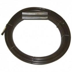 Tube polyéthylène 80 noir pour irrigation - 50 mètres