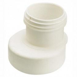Sortie WC droite excentrée de 88 à 97mm